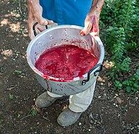 Goat blood for Christmas Lunch.jpg