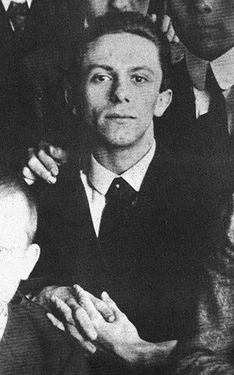 Joseph Goebbels - Goebbels in 1916