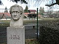 Goetheschule Bust of Goethe Koenigsee Thuringia Germany.jpg