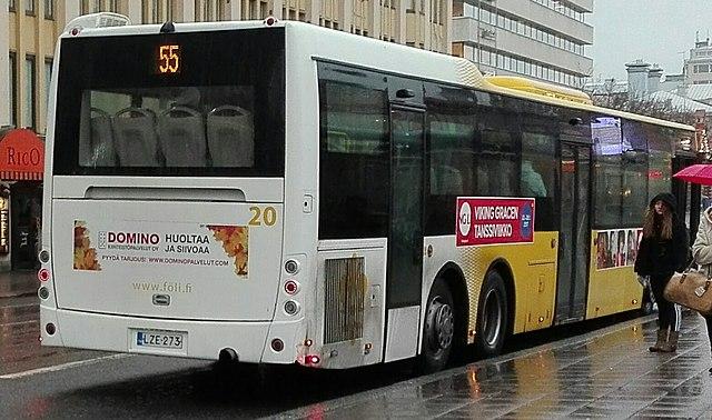Bus Turku Helsinki