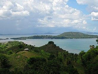 Gorontalo - The Kwandang area.