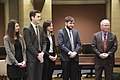 Governor Mark Dayton appoints Lt. Governor Tina Smith to the U.S. Senate (39035441661).jpg