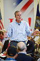 Governor of Florida Jeb Bush at TurboCam, Barrington, NH 1 on August 18th by Michael Vadon.jpg
