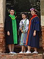 Graduating Girls at Wat Chaiwattanaram - Ayutthaya - Thailand (34810241681).jpg