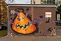 Graffiti at electrical substations, Brno-Vinohrady 15.jpg