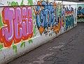 Graffiti in Chesterton underpass - geograph.org.uk - 2050288.jpg
