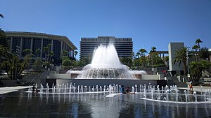 Grand Park - Image: Grand Park in Los Angeles 1