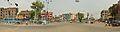 Grand Trunk Road and Jagat Banerjee Ghat Road Crossing - Kazi Para - Howrah 2014-06-15 5083-5085 Compress.JPG