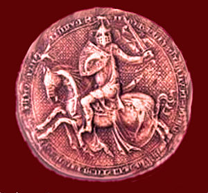 Humbert II of Viennois - Great Seal of Humbert II