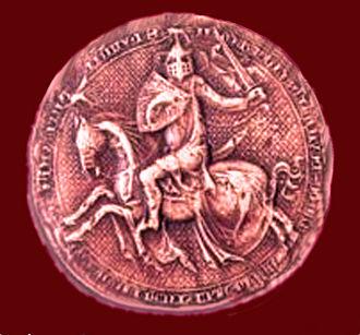 Humbert II of Viennois - Great Seal of Humbert II
