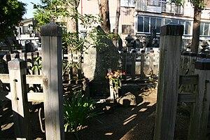Matsudaira Tadateru - Matsudaira Tadateru's grave, at Teishoin in Suwa, Nagano