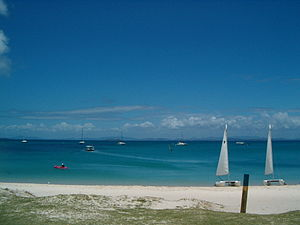 Great Keppel Island Beach.