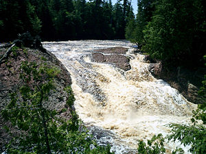 Black River (Gogebic County) - Great Conglomerate Falls
