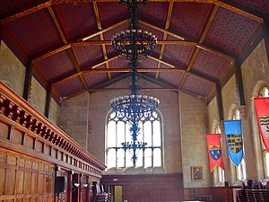 M. Carey Thomas Library - Image: Great Hall Bryn Mawr College PA