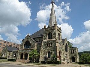 Avalon, Pennsylvania - Greenstone United Methodist Church located at 939 California Avenue