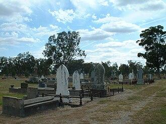 Dan Kelly (bushranger) - Greta Cemetery, burial place of Dan Kelly