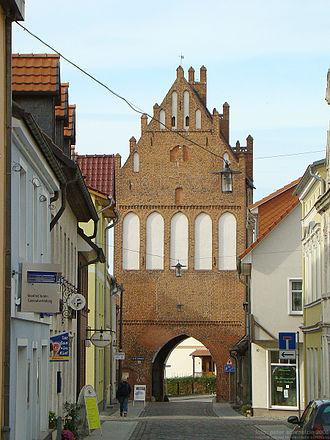 Grimmen - Stralsund gate