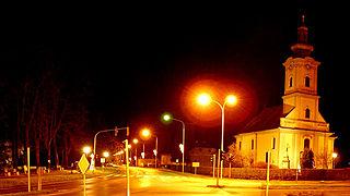 Grubišno Polje Town in Bjelovar-Bilogora, Croatia