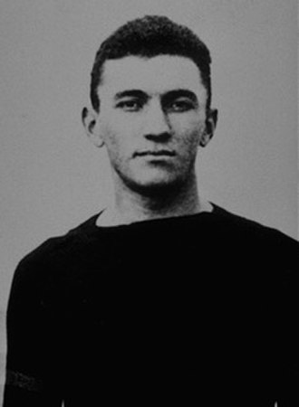 Gus Welch - Welch during his college football days at Carlisle