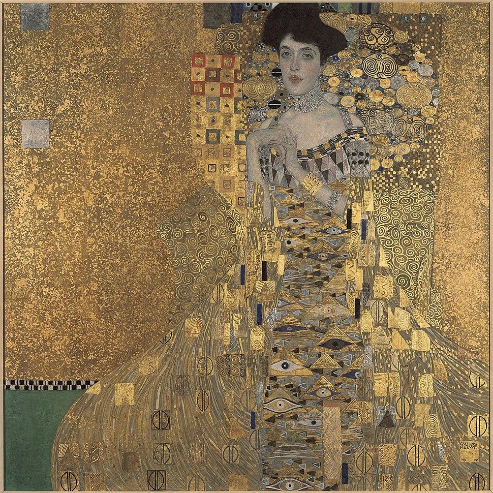Gustav Klimt, 1907, Adele Bloch-Bauer I, Neue Galerie New York