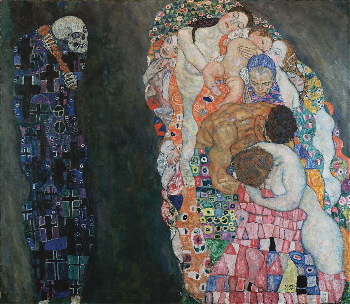 Gustav Klimt, Death and Life, 1908-1915