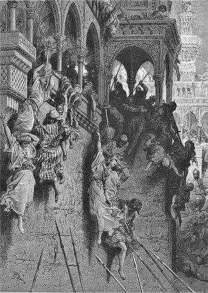 "Constantinopla, Otranto, Lepanto... o como el otomano ""quería"" conquistar Europa 300px-Gustave_dore_crusades_the_massacre_of_antioch"