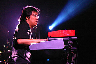 Chrisye - After the success of the Sendiri concert, Chrisye collaborated several times with Erwin Gutawa (pictured in 2004).