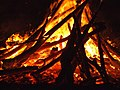 Guy Fawkes bonfire 2007.jpg