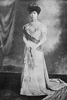 Fusako Kitashirakawa daughter of emperor Meiji; spouse of Prince Kitashirakawa Naruhisa