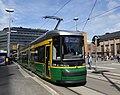 HKL tram line 9 on Rautatientori.jpg