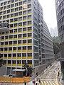 HK 中環 Central 置地廣場 Landmark footbridge view 雪廠街 Ice House Street March 2020 SS2 03.jpg