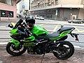 HK SSP 長沙灣 Cheung Sha Wan 大南西街 Tai Nan West Street motorbike parking sidewalk December 2019 SS2 02.jpg