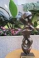 HK WC 灣仔 Wan Chai 香港演藝學院 HKAPA Campus 開放日 Open Day Chu Tat-Shing 朱達誠 Zhu Dacheng's Sculpture Girl in ribbon dance March 2019 IX2 03.jpg