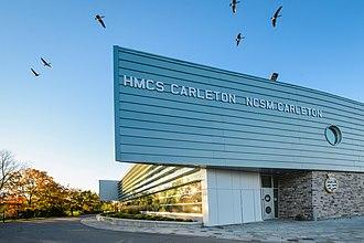 HMCS Carleton - Image: HMCS Carleton New Building