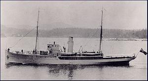 Examination vessel - HMCS ''Malaspina''