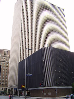 1200 Travis - Image: HPDHQ Downtown Houston