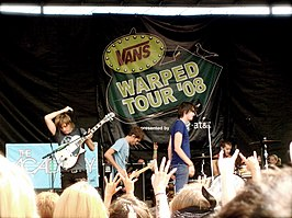 The Academy Is op de Warped Tour 2008