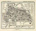 HUA-212043-Plattegrond van de stad Utrecht met weergave van het stratenplan grotendeels met straatnamen watergangen plantsoenen en aanduiding van de belangrijke .jpg