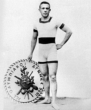 Hungary national football team - Alfréd Hajós, who won two gold medals in swimming in the first Olympic Games in 1896, was one of the first managers of the national team