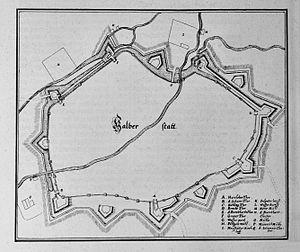 Battle of Halberstadt - Image: Halberstatt (Merian)