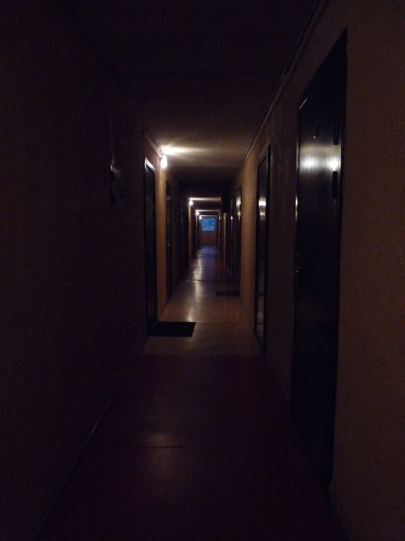 Apartment Building Hallway Lighting simple apartment building hallway blue door paris pinterest