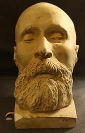 Totenmaske von Friedrich Hebbel (Quelle: Wikimedia)
