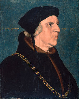Thornage - Portrait of William Butts after Hans Holbein the Younger (c. 1540)
