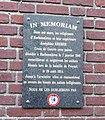 Harbonnières, plaque commémorative (1914-1918).jpg