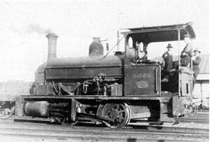 Port Elizabeth Harbour 0-4-0ST - Image: Harbour Board PE 0 4 0ST no. 01020 ex no. L
