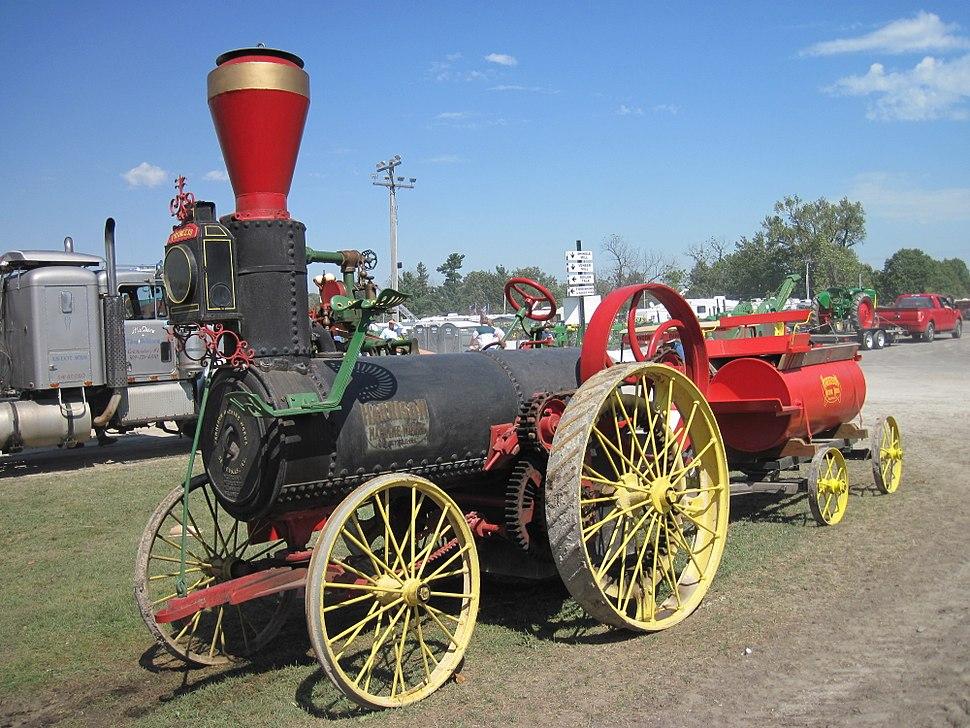 Harrison Machine Works 1882 tractor