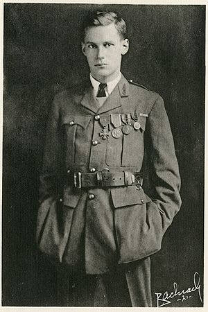 Harry Crosby - Harry Crosby shortly after Armistice Day, 1919, displaying his decorations.