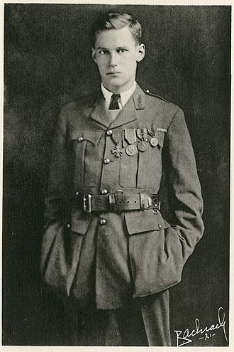 Harry Crosby - Crosby in uniform shortly after Armistice Day 1919