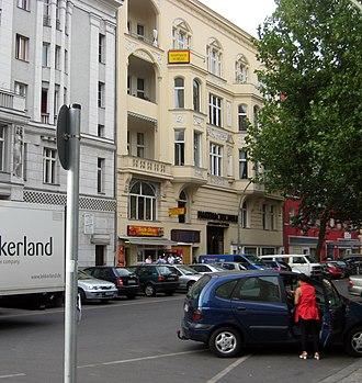 Motzstraße - The Gaystreet Motzstrasse at Nollendorfplatz