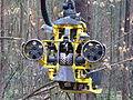 Harvester John Deere 1170E Arbeitskopf.JPG